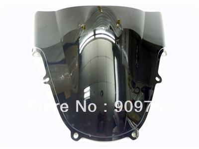 Бесплатная доставка 1 шт. дыма темно ветрового стекла лобовое стекло для 2000 - 2002 Suzuki GSXR GSX-R 600 750 1000 K1