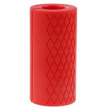 1 шт., толстые ручки для гантелей, штанги для тяжелой атлетики, силиконовая Нескользящая защитная накладка для бодибилдинга(China)