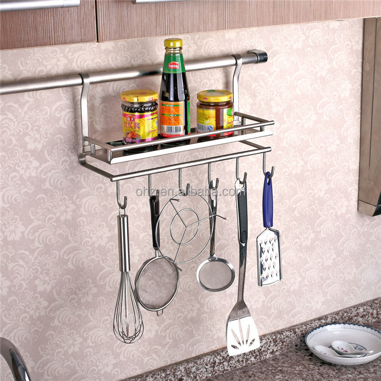 Wall Mounted Stainless Steel Kitchen Utensil Holder Buy