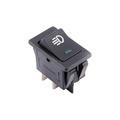 12V 35A Car Auto Fog Light Rocker Toggle Switch Blue 4Pins LED Dashboard