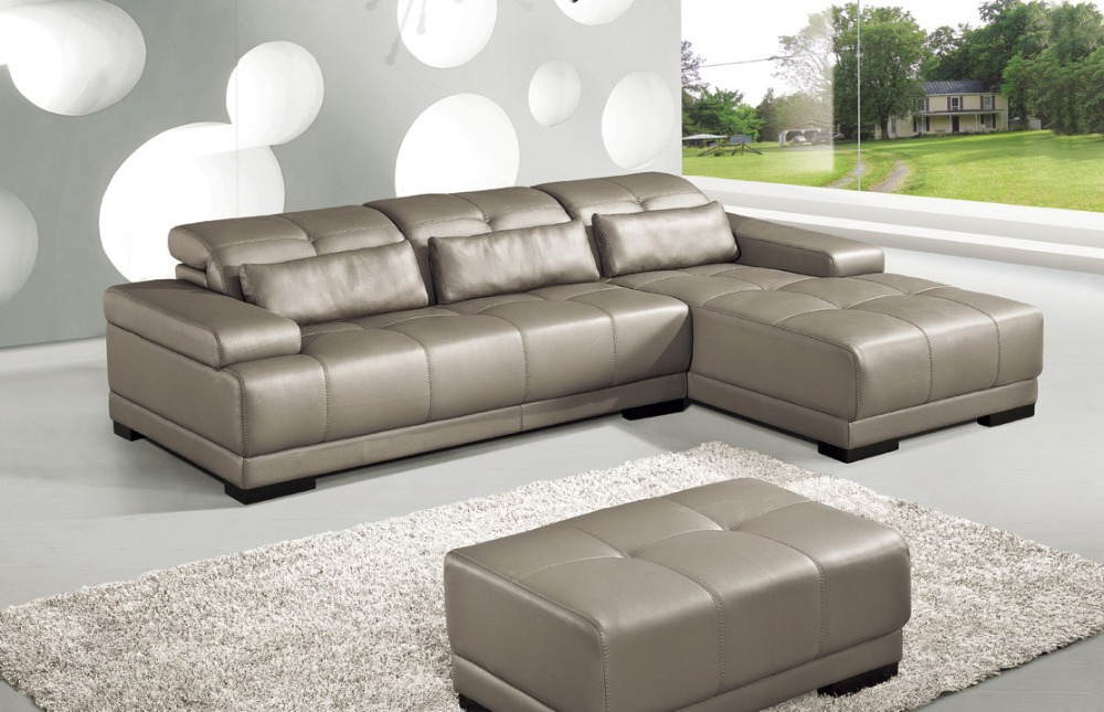 Online Get Cheap Sectional Leather Couches Aliexpress Com