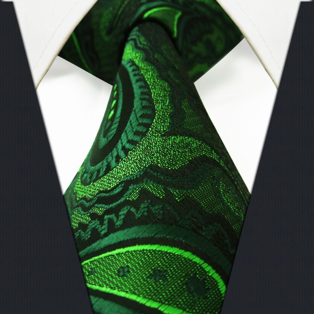 black suit dark green tie - photo #29