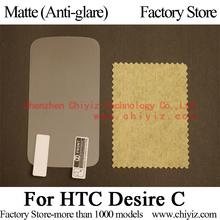 Matte Anti-glare Screen Protector Guard Cover protective Film Shield For HTC Desire C NFC A320e