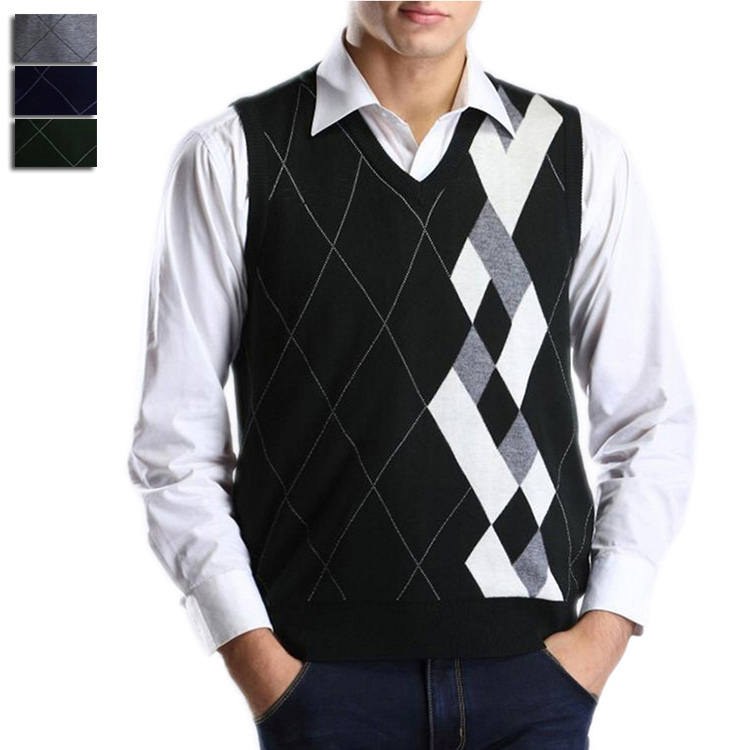 e7ed801ecfdc Sleeveless V Neck Sweater Vests - Cardigan With Buttons