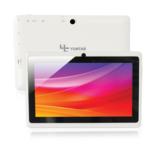 Free Shipping 7 inch Android Tablet Q88,1024*600 A33 Quad Core 512MB+8GB Dual Camera, Supports WIFI 3G External