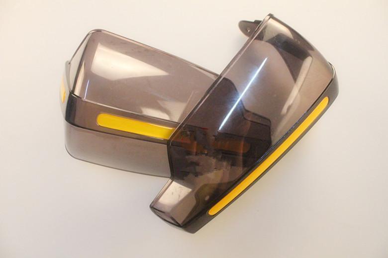 Мотоцикл большой прозрачный передний ветер щит защиты ветер дефлектор ветрового стекла ручка бар лобовое стекло
