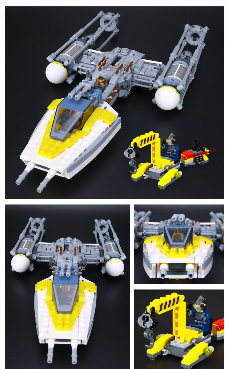 Star War Series Y-wing Starfighter