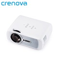 Crenova XPE460 LED Video Projector 1080P 1200 Lumens Office Projector with HDMI for Home Cinema Theater