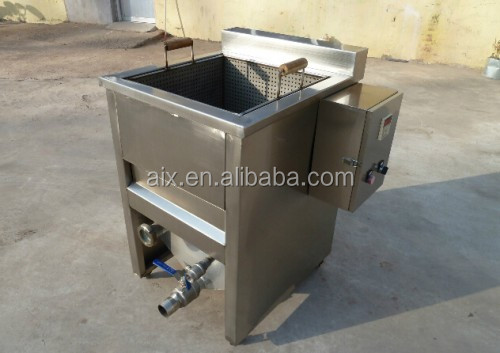 Small Capacity Home Use 50kg Per Batch Deep Fryer For