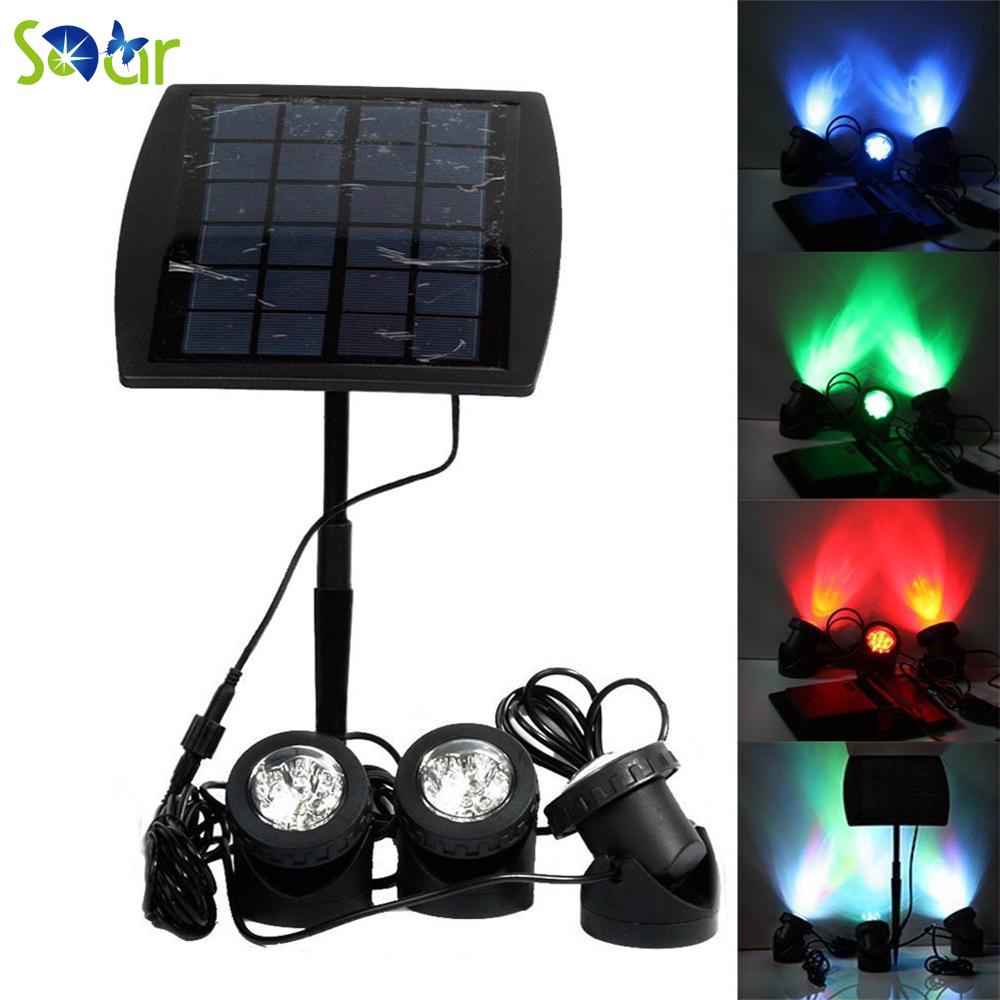 Compra Iluminaci 243 N Solar Para Piscinas Online Al Por Mayor