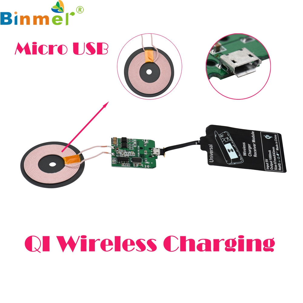 Diy Qi Wireless Charger Pcba Circuit Board With Coil Wireless Charging