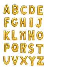 Narozeninové nafukovací balónky písmena nebo čísla 1 ks má 35 cm z Aliexpress