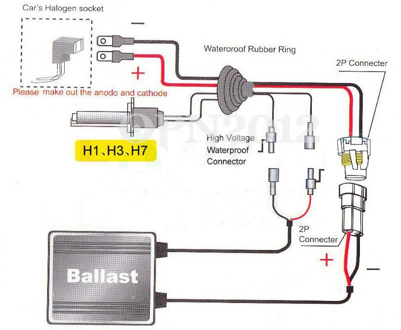 H3 Hid Kit Wiring Diagram - All Diagram Schematics H Bulb Wiring Diagram on