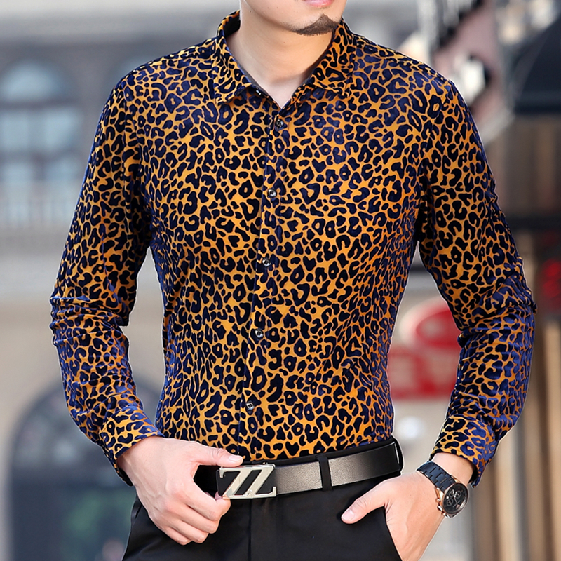Leopard Print Shirt. Embrace an edgy side with a leopard print shirt. Blend a leopard print tank with shorts or try on a leopard print blouse with a skirt. Find shirts with leopard prints by Almost Famous, Baby Phat and others.