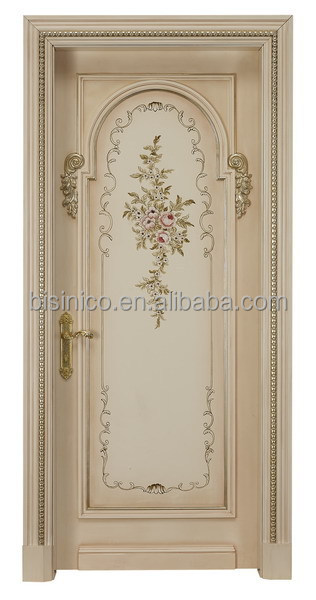 Exquisite Wood Carved Door,Home Bedroom Entry Door Designs ...