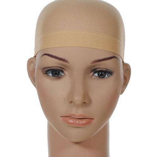 2 шт. унисекс чулок парик подкладка кепка поводка нейлон простирание сетчатая ткань