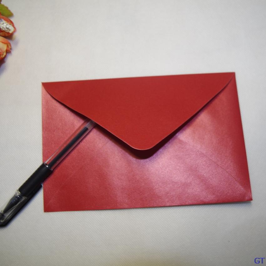 50Pcs LxW  17x11cm luxury Pearl paper envelopes postcards ... 5c6fdd4f34