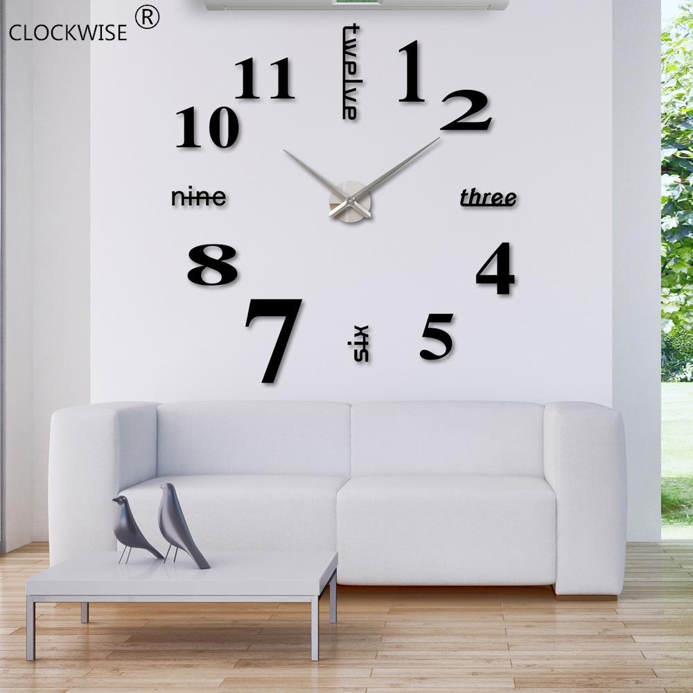 Achetez En Gros Miroir Horloge Murale En Ligne 224 Des