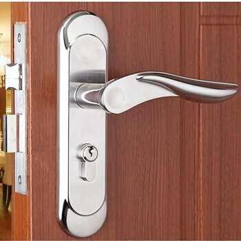 Free shipping double bolts mortise lock european style - Interior door privacy mortise lock ...