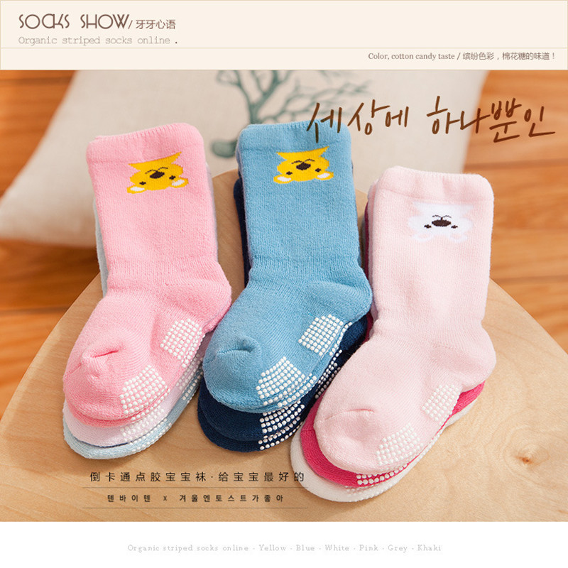 Free shipping individually wrapped cotton Baby socks newborn floor socks kids cotton short socks girl and