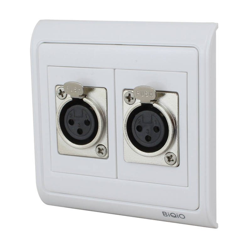 online buy wholesale xlr wall plates from china xlr wall plates wholesalers. Black Bedroom Furniture Sets. Home Design Ideas
