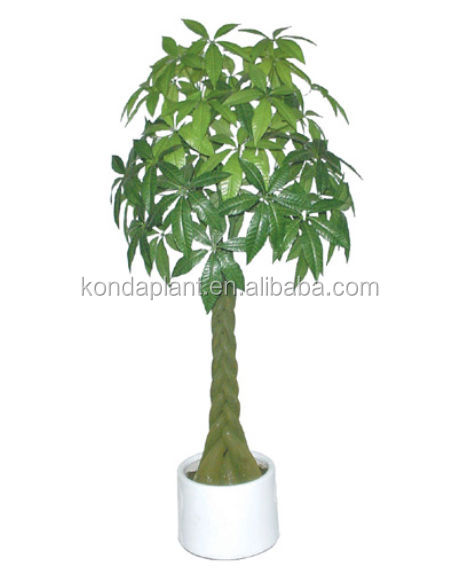 artificielle petits bonsa s en plastique plantes d 39 int rieur faux arbre d 39 argent artificielle. Black Bedroom Furniture Sets. Home Design Ideas