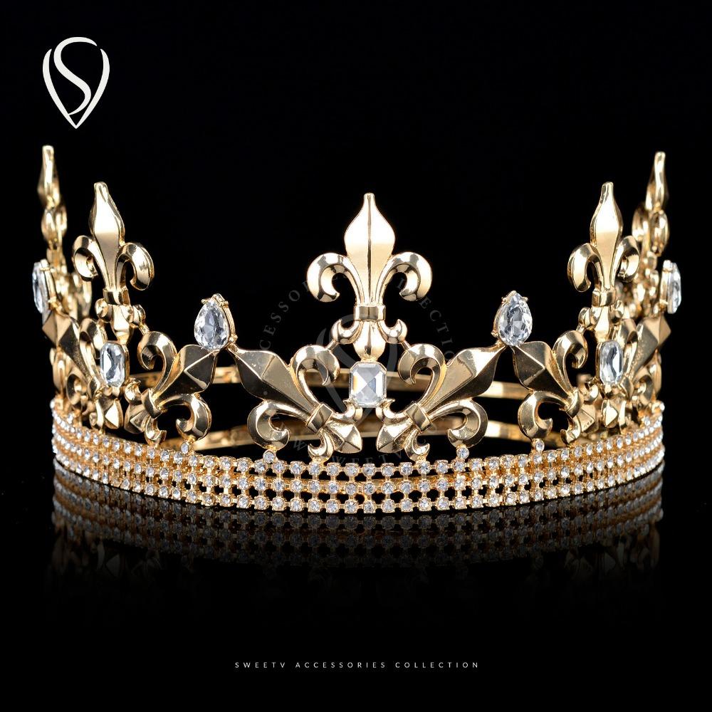 Popular Royal Headpieces-Buy Cheap Royal Headpieces lots ...