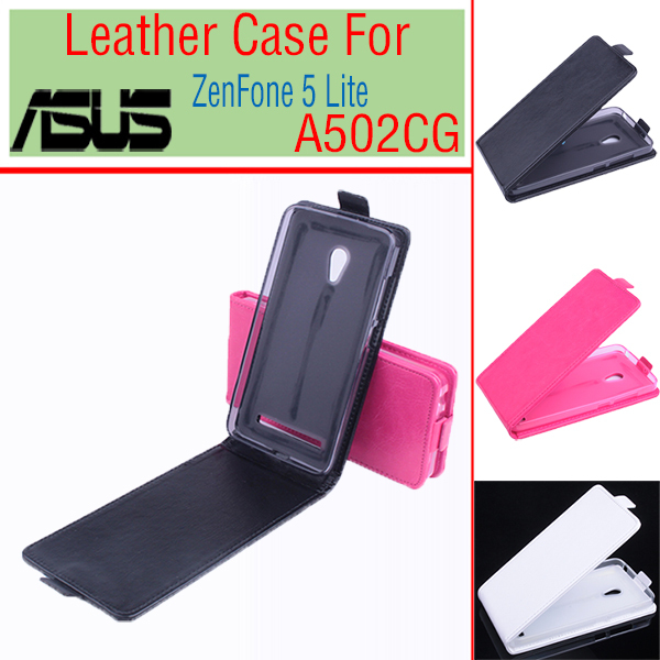 uk availability af774 ddec7 For Asus Zenfone 5 Lite A502CG Business Phone Cases PU Leather Flip Case  Back Cover Shell Book Case Accessories Mobile Phone Bag