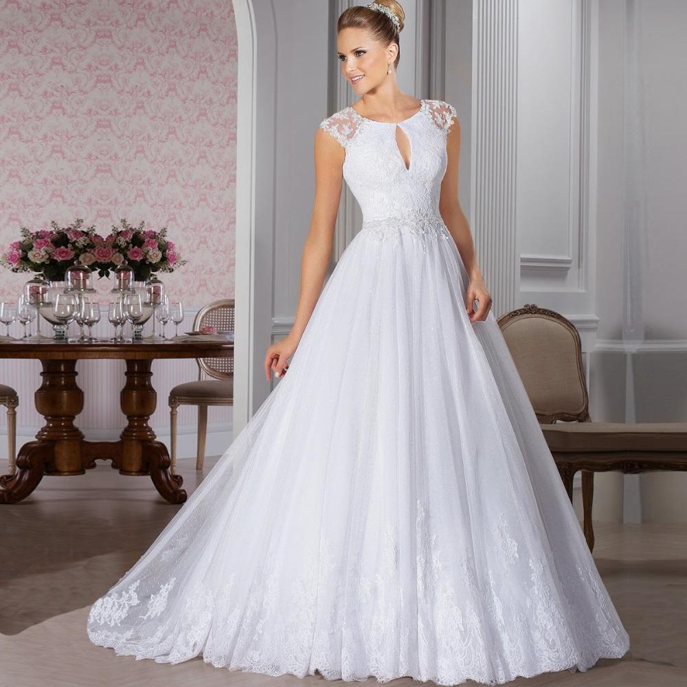 Aliexpress Com Buy Robe De Mariage New Vintage Wedding: Aliexpress.com : Buy Robe De Mariage Princess Sheer Back
