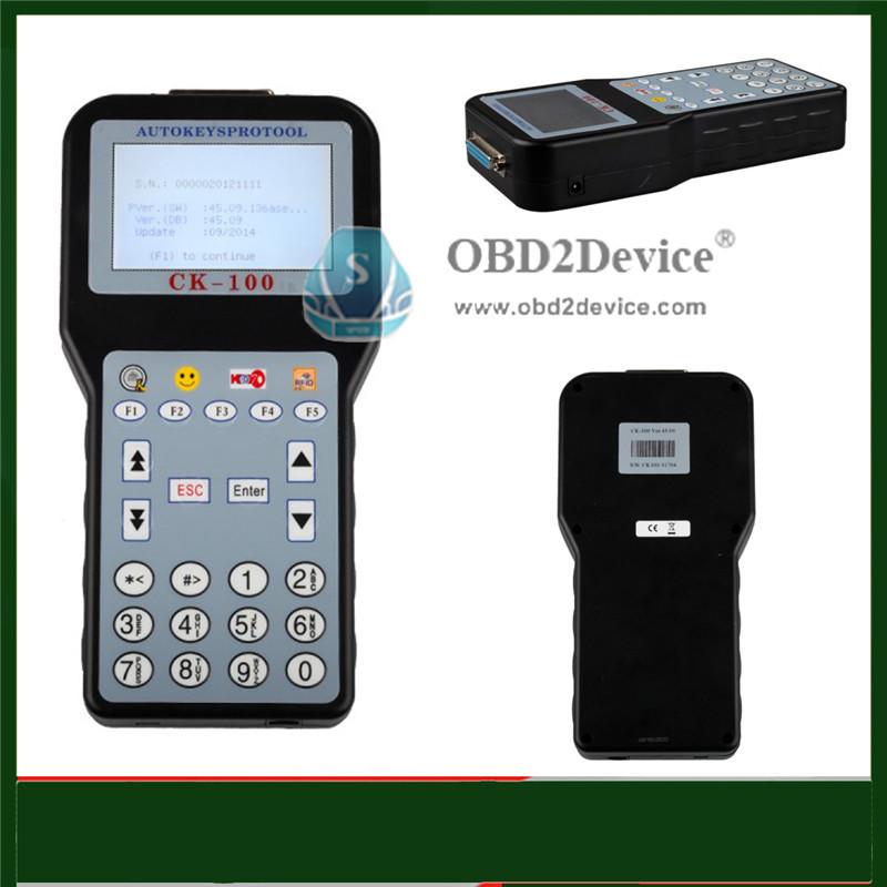 Горячая распродажа 2016 ск-100 CK100 OBD2 автомобиля программер V45.09 последнего поколения CK100 ключевые программер