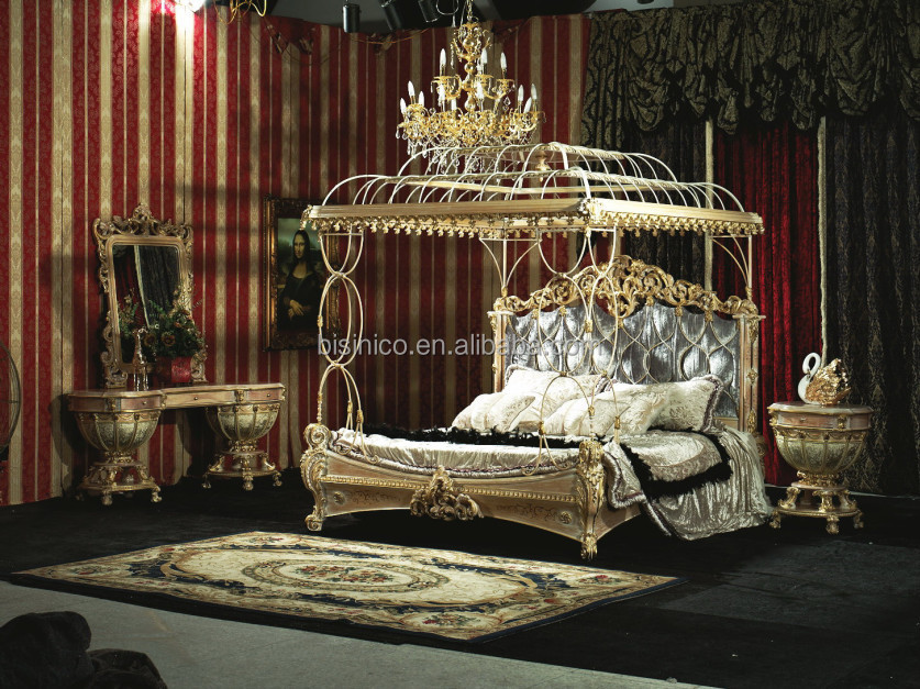 Antique Royal European Style Solid Wood 5pcs Bedroom Furniture Classic Bedroom Set Buy