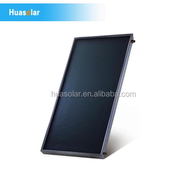 工場直販ブラッククロームコーティング平板型太陽集熱器仕入れ・メーカー・工場