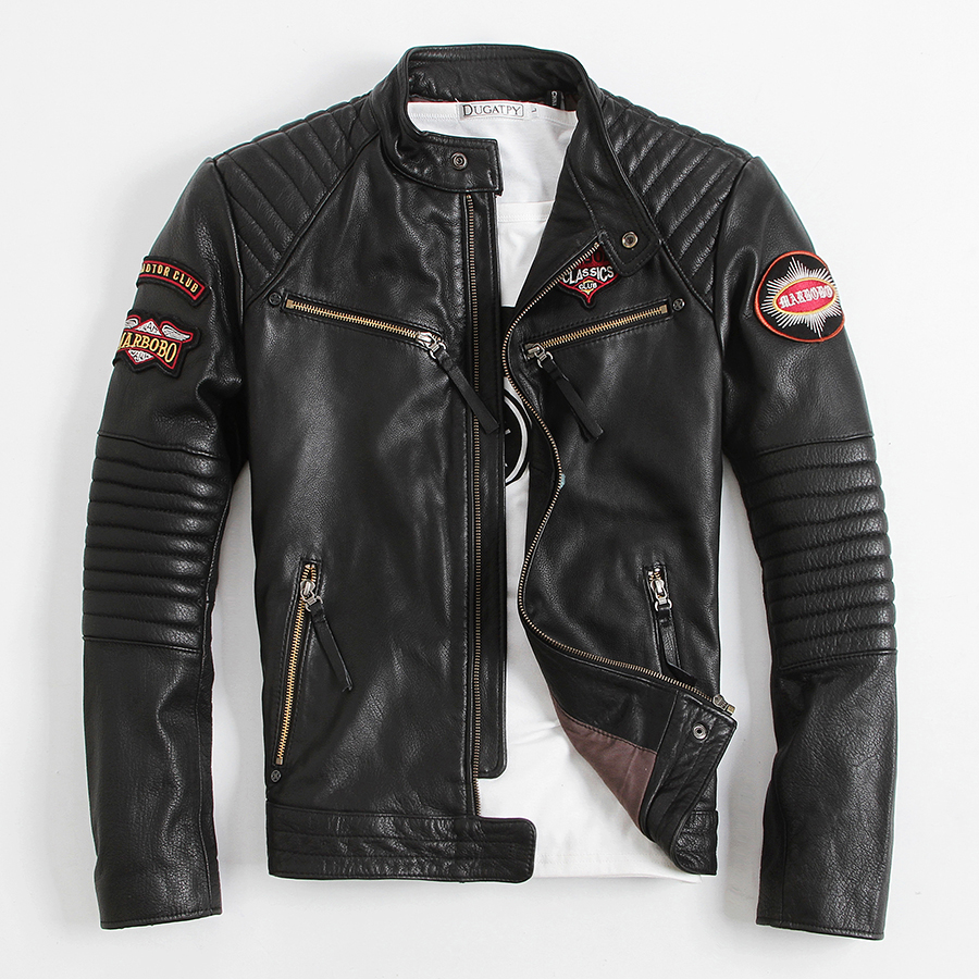 Leather clothing stores