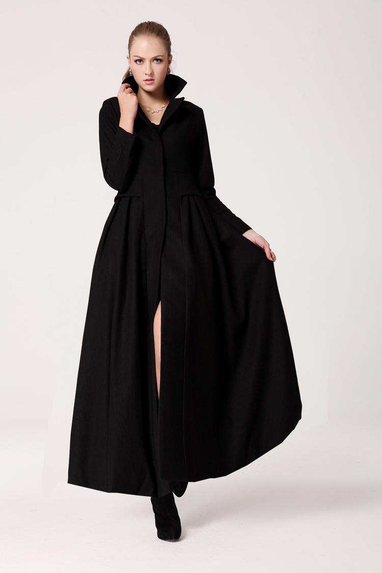Maxi coat for women