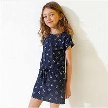 Детское платье; Одежда для детей; Для девочек; Рубашка с короткими рукавами 2020 принцессы для девочек-подростков вечерние свадебное празднич...(Китай)