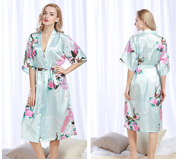 47736aed379f7 Detail Feedback Questions about New Brand Sexy Robes Sets Women Silk ...