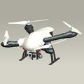 Newest Black Orange Wihte RC FPV Drones QAV Quadcopter Frame with 550mm Wheelbase 4 Axles Foldable