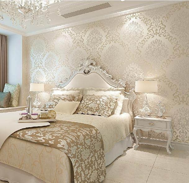 Wallpapers In Home Interiors: 3D Walls Wallpaper Rolls Photo Wall Paper Luxury Europe