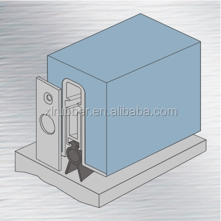 Rubber Strip Door Seal With Sticker Rubber Bottom Seal For