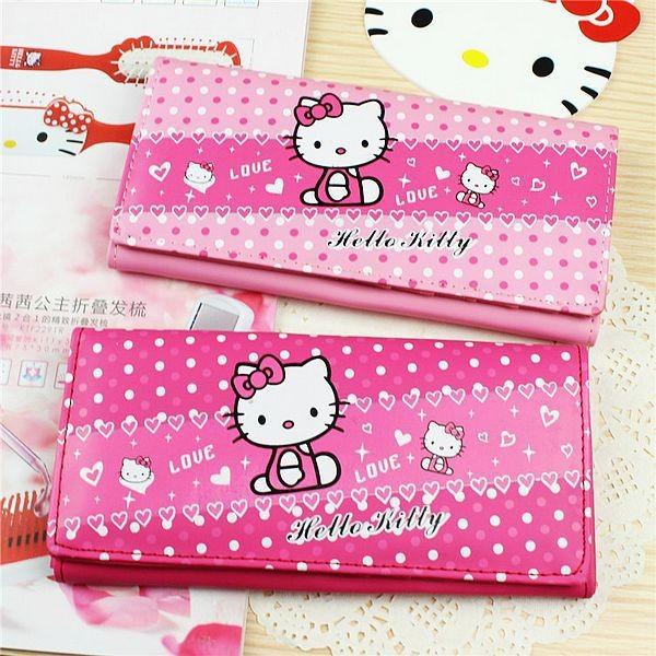 Wholesale Girls Wallet Women 2015 New Kids Purse Hello Kitty ... 0e37bd3196