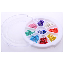 ongles decoracion de unas nail glitter decorazioni unghie rhinestones for nails DIY Nail Decals Women Love