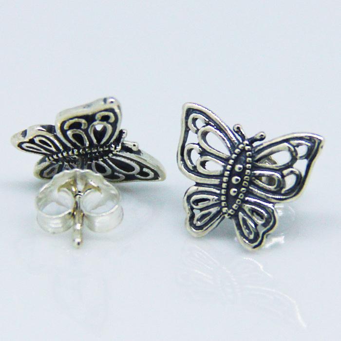 Pandora Butterfly Earrings: Pandora Love Takes Flight Earring Studs