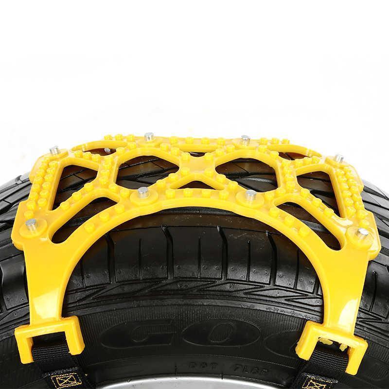 Автомобильных шин цепи сухожилия утолщение цепи противоскольжения установлен три