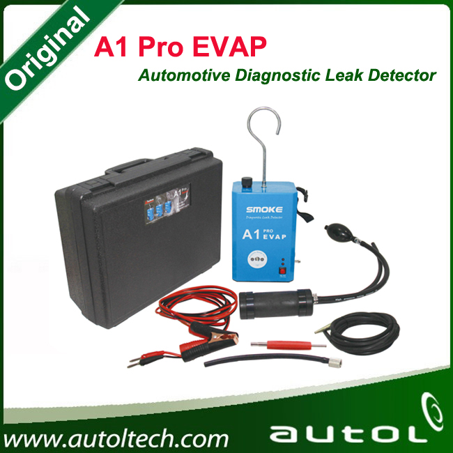 Автомобильный диагностический течеискателя A1 Pro EVAP для мотоциклов / автомобили / внедорожники заменить ALL-100 дым автомобильной утечки локатор