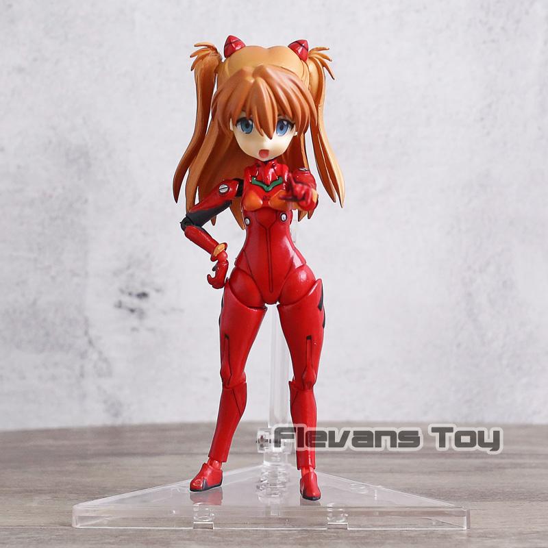 EVA Parfom F011 Evangelion Shikinami Asuka Langley Cute Action Figure New In Box