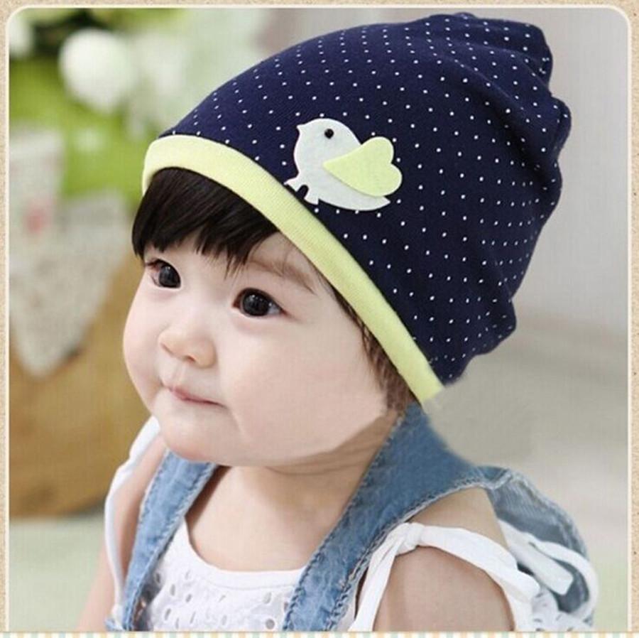 2015 new arrive Spring and autumn Korean style Fashion bird warm hat children cap