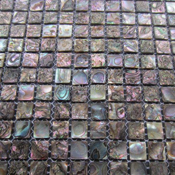2019 Abalone Shell Green Mosaic Tile Kitchen Backsplash