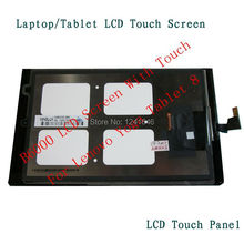 For Lenovo Yoga Tablet 8 B6000 Touch Screen Digitizer with LCD Display lcd assembly