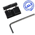 Dovetail To Weaver Picatinny Adapter Snap In Rail Adapter 11mm to 22mm Adapter Hunting Aluminum For