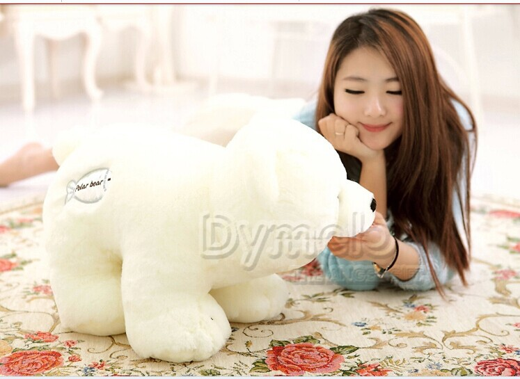 45 cm white polar bear plush toy doll birthday girlfriend gift w5468